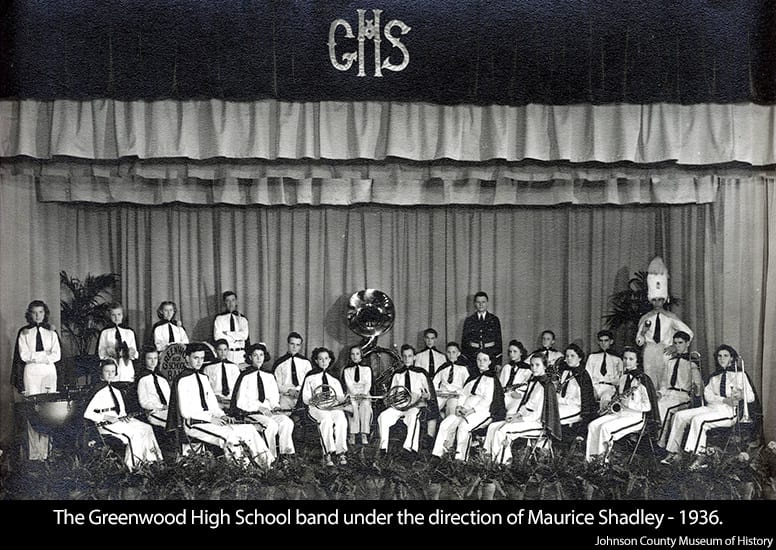 1936-First Greenwood HS Band